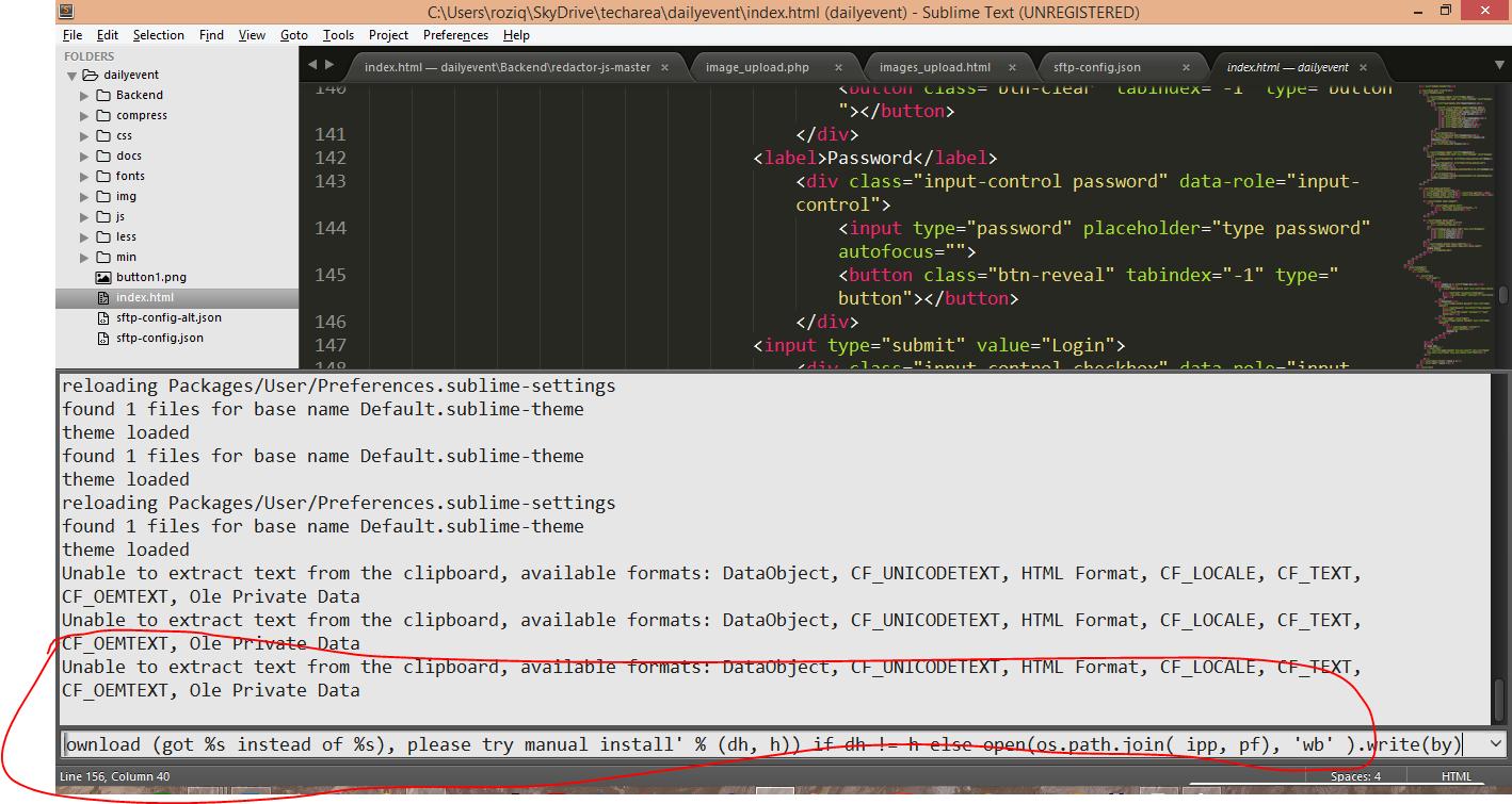 paste package code