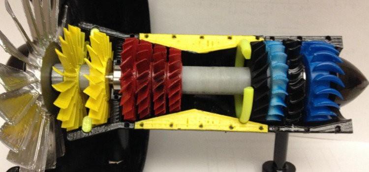 Lihat Cara kerja Jet Engine